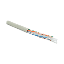 Hyperline UUTP4-C6-S23-IN-PVC-GY-305